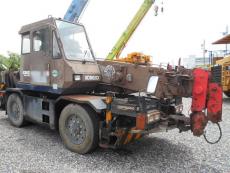 Cẩu lốp 4,9 tấn Kobelco và Komatsu nhập Nhật