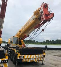 Cẩu lốp 70 tấn Kato KR70H